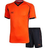 Комплект футбольной формы 2K Sport Agio, neon-orange/black, размер XXL