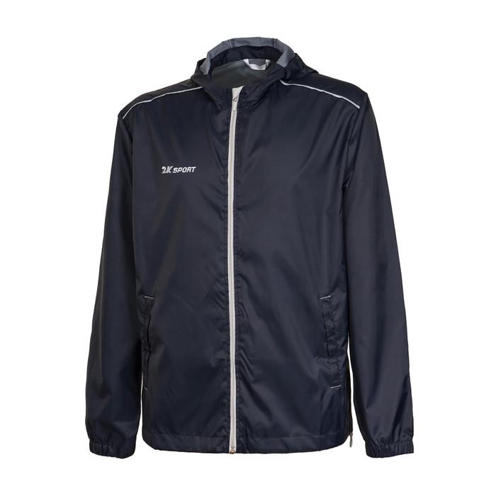 Куртка ветрозащитная 2K Sport Futuro, black/silver, XL