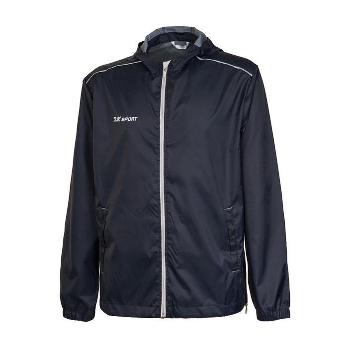 Куртка ветрозащитная 2K Sport Futuro, black/silver, L