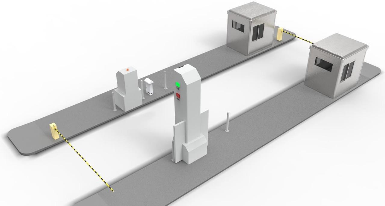 Система досмотра грузов и транспортных средств SECUSCAN AT2600