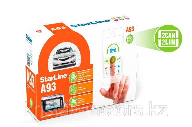 Автосигнализация с автозапуском StarLine A93 2CAN 2LIN
