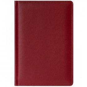 Ежедневник датированный Memory, 2021 г., А5, 176 л., красный