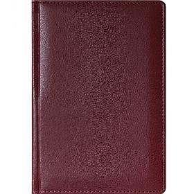 Ежедневник датированный Memory, 2021 г., А5, 176 л., бордовый