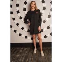 Платье женское Play, цвет антрацит, размер 56