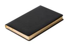 Датированный ежедневник SILVANO, A4 Черный c золотым срезом