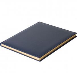 Еженедельник датированный Gift, 2021 г., А4,  с золотым срезом, синий
