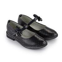 Туфли детские, цвет чёрный, размер 34