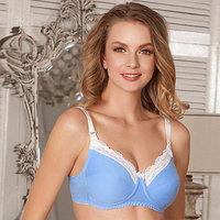 Бюстгальтер Marta для беременных и кормящих, цвет голубой, размер 80B