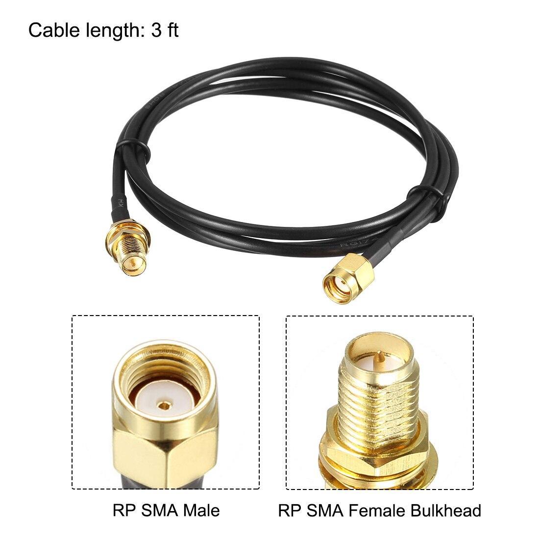 Удлинительный кабель для подключения антенн, 3 метра - фото 1
