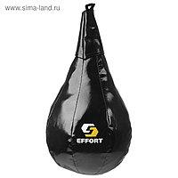 Груша боксерская EFFORT MASTER, на ленте ременной, (тент), большая, 55 см, d 35 см, 13 кг