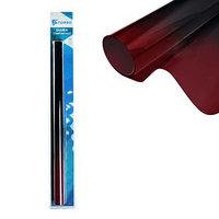 Тонировочная плёнка для автомобиля TORSO 50x300 см, 5, переход черно-красный