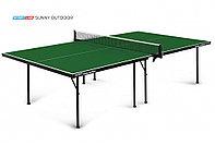 Теннисный стол Sunny Outdoor Green без сетки 6014-1