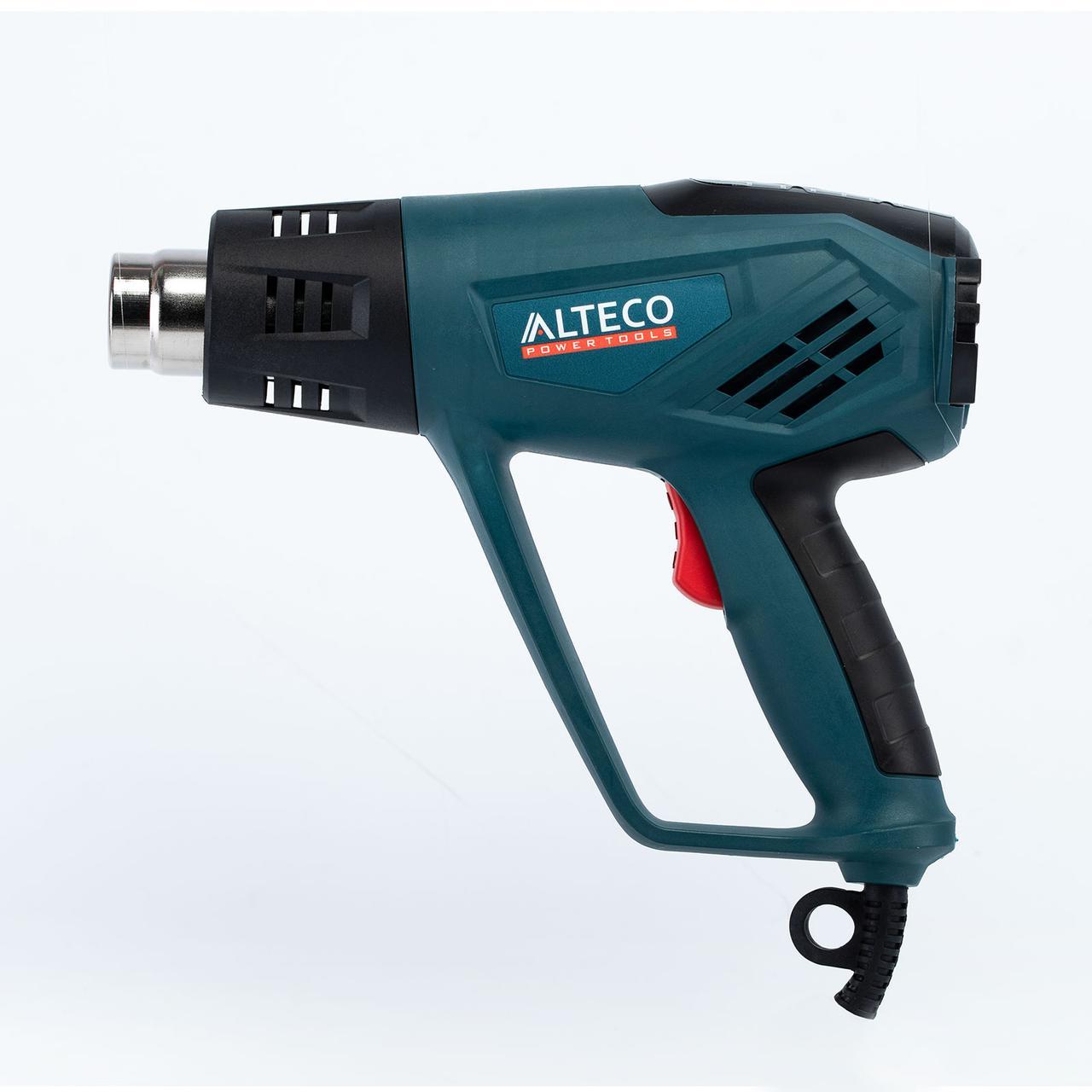 Строительный фен ALTECO HG 0608 2000Вт 50/350/600С 250/550л/мин кейс