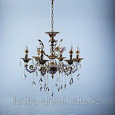 Люстра Классика 3301/6A FG+WT, фото 3