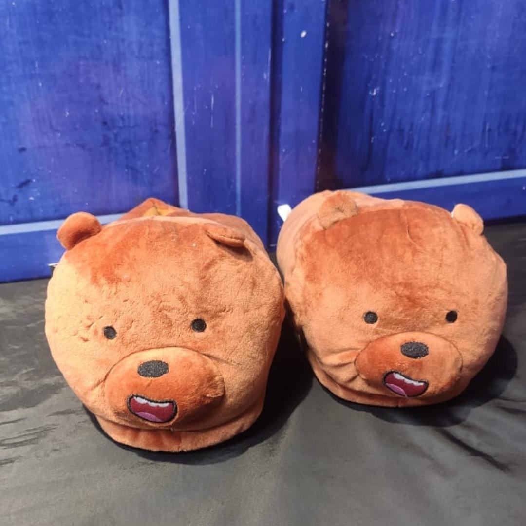 Тапочки Гриз - Мы обычные медведи