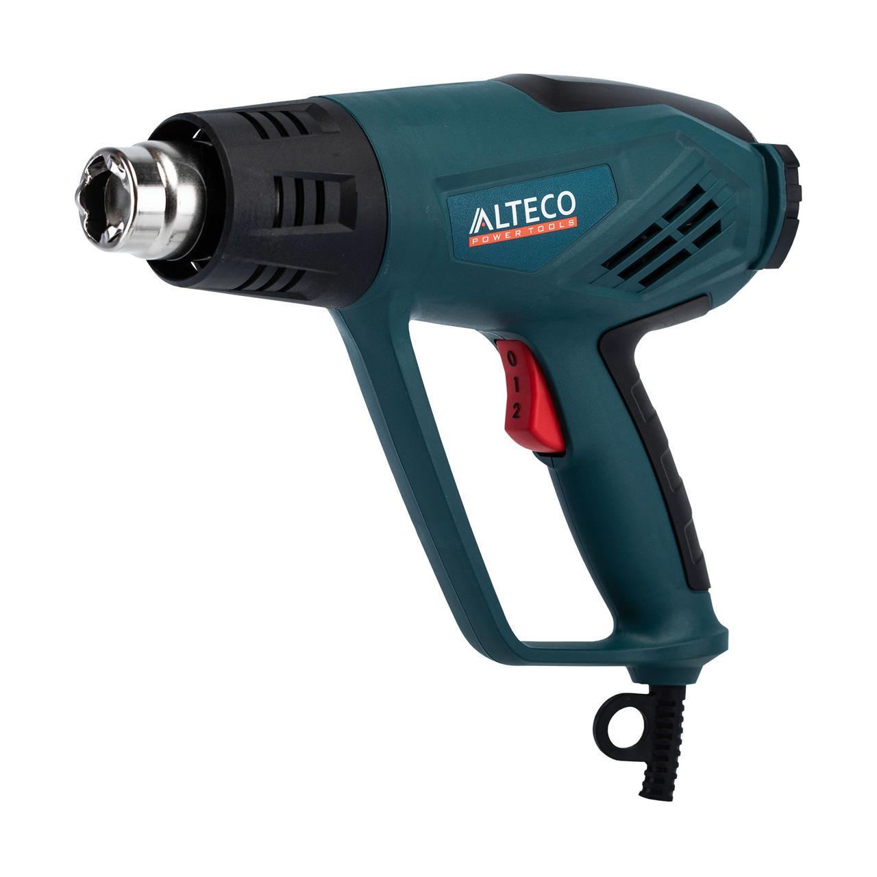 Строительный фен ALTECO HG 0609 2000Вт 50/600°C 120/500 л/мин автоохлаж кейс