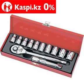 Набор торцевых головок, 1/2, головки 10-24 мм, с трещоточным ключом, 12 предметов Matrix Master