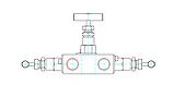 Трёхвентельный манифольд серии VBR56, фото 2