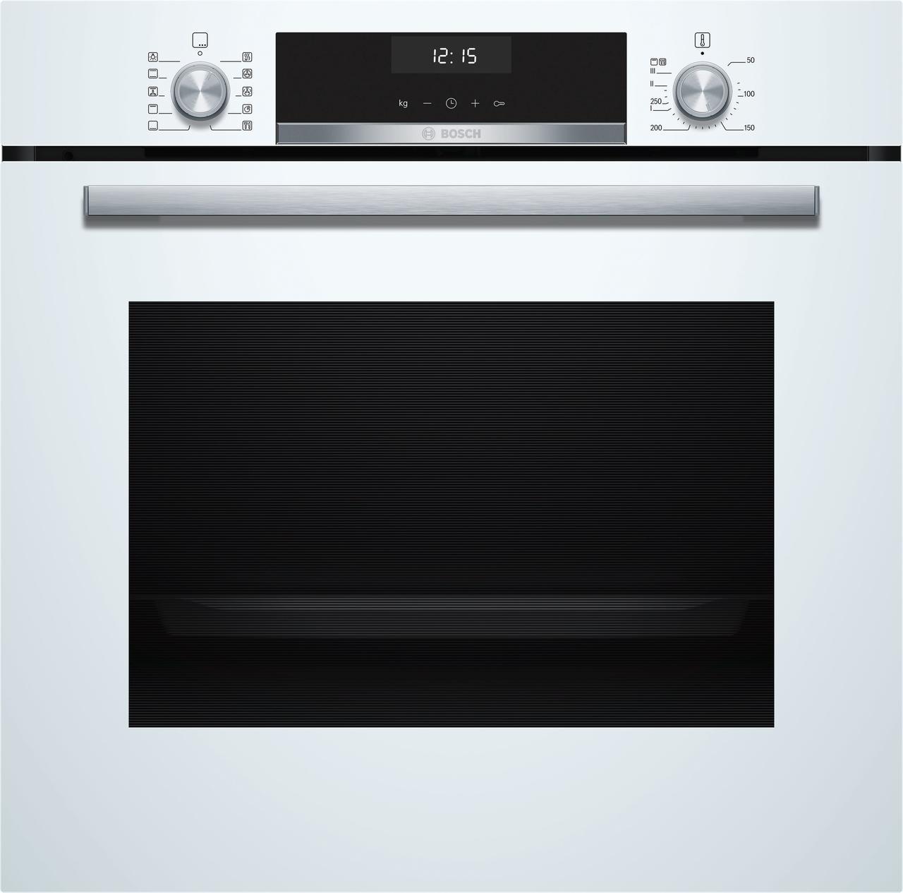Встраиваемый духовой шкаф Bosch 60 cm Белый (HBG 537 NW0R)