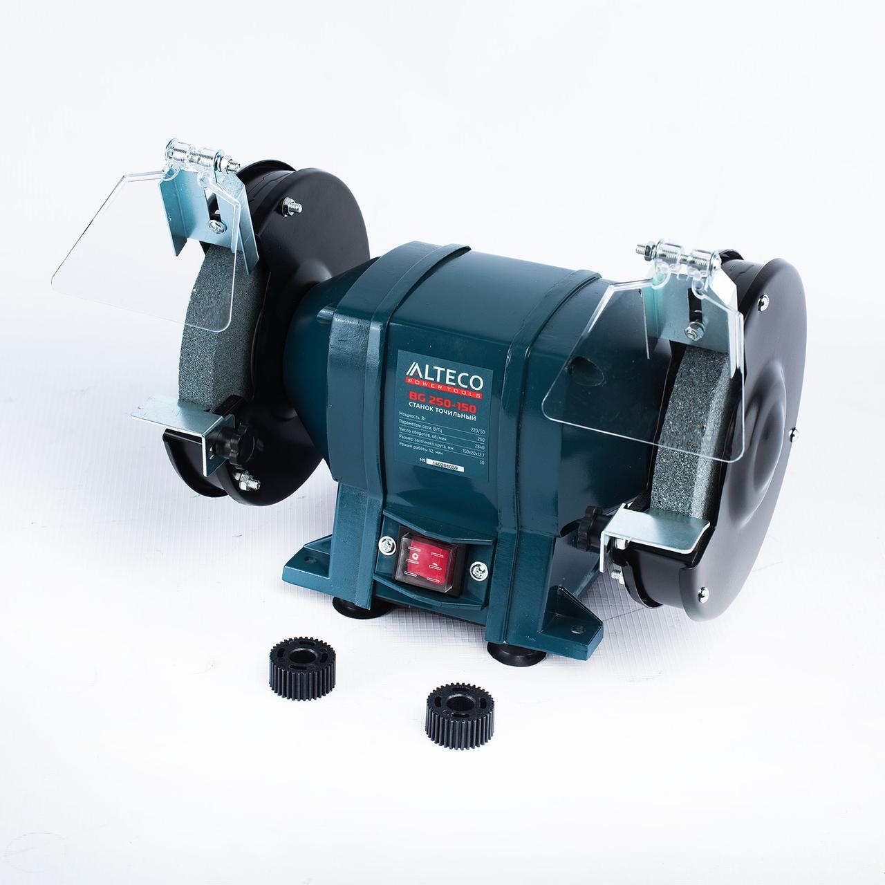 Станок точильный ALTECO BG 250-150 250Вт 150x20x12.7 2840об/мин