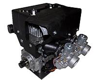 Двигатель РМЗ-550 2-х карб. АВИА C40500550РЗЧ