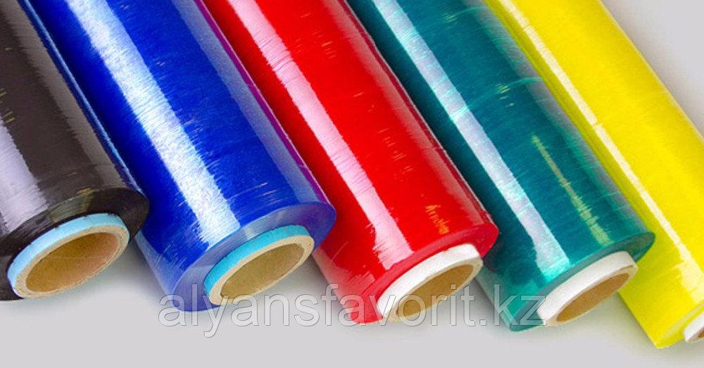 Цветная стрейч-пленка для ручной обмотки в ассортименте. РК