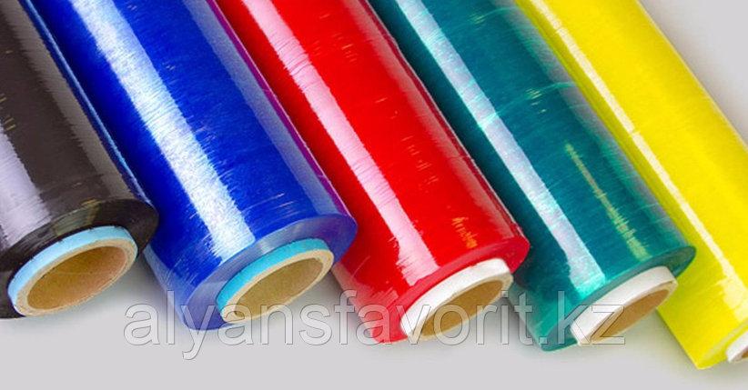 Цветная стрейч-пленка для ручной обмотки в ассортименте. РК, фото 2