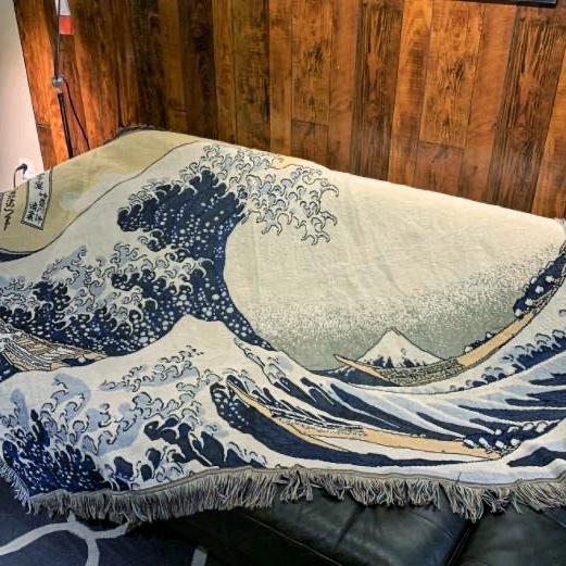 Гобелен Большая волна в Канагаве