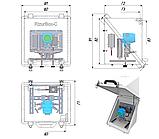 РизурБокс-С (RizurBox-C) Термошкафы стеклопластиковые диагонального раскрытия, фото 4