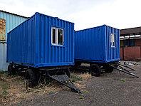 Вагончики на колесах от 5 до 9 метровых контейнеров
