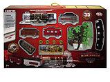 """Детская железная дорога на радиоуправлении со светои и дымом play smart """"мой поезд"""" 35 деталей, фото 2"""