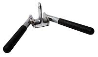 """Рукоятка для тяги на трицепс V-образная (""""серьга"""") FT-MB-VH-STRT (AB-06)"""