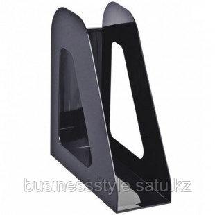 Лоток вертикальный Стамм 235*240*90мм черный, серый
