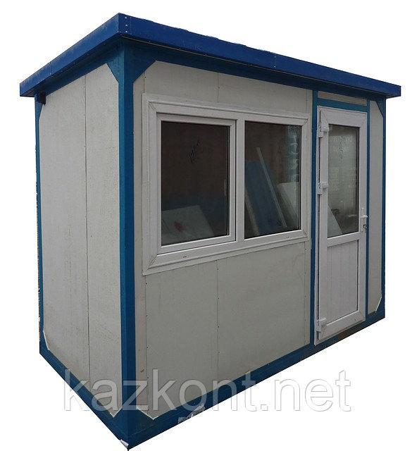 Пост охраны, охранная будка, КПП 3,0*1,5*2,6 м