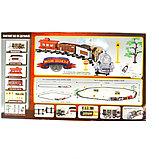 """Детская железная дорога на радиоуправлении со светои и дымом play smart """"мой поезд"""" 35 деталей, фото 3"""