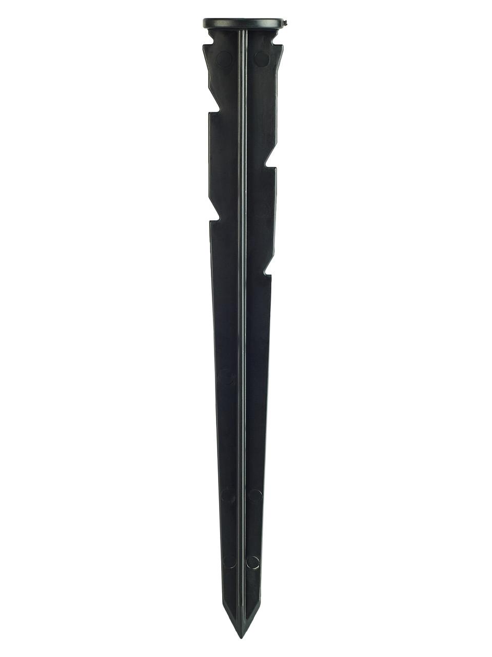 Пластиковые колья 240мм для крепления бордюров