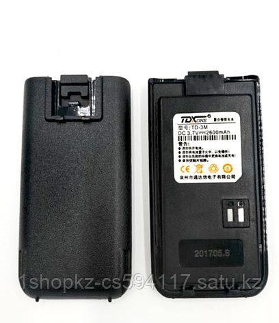Аккумулятор TD-3M для рации TDX TD-3M, фото 2
