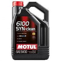 Моторное масло Motul 6100 SYN-CLEAN 5W-30  5 Л.