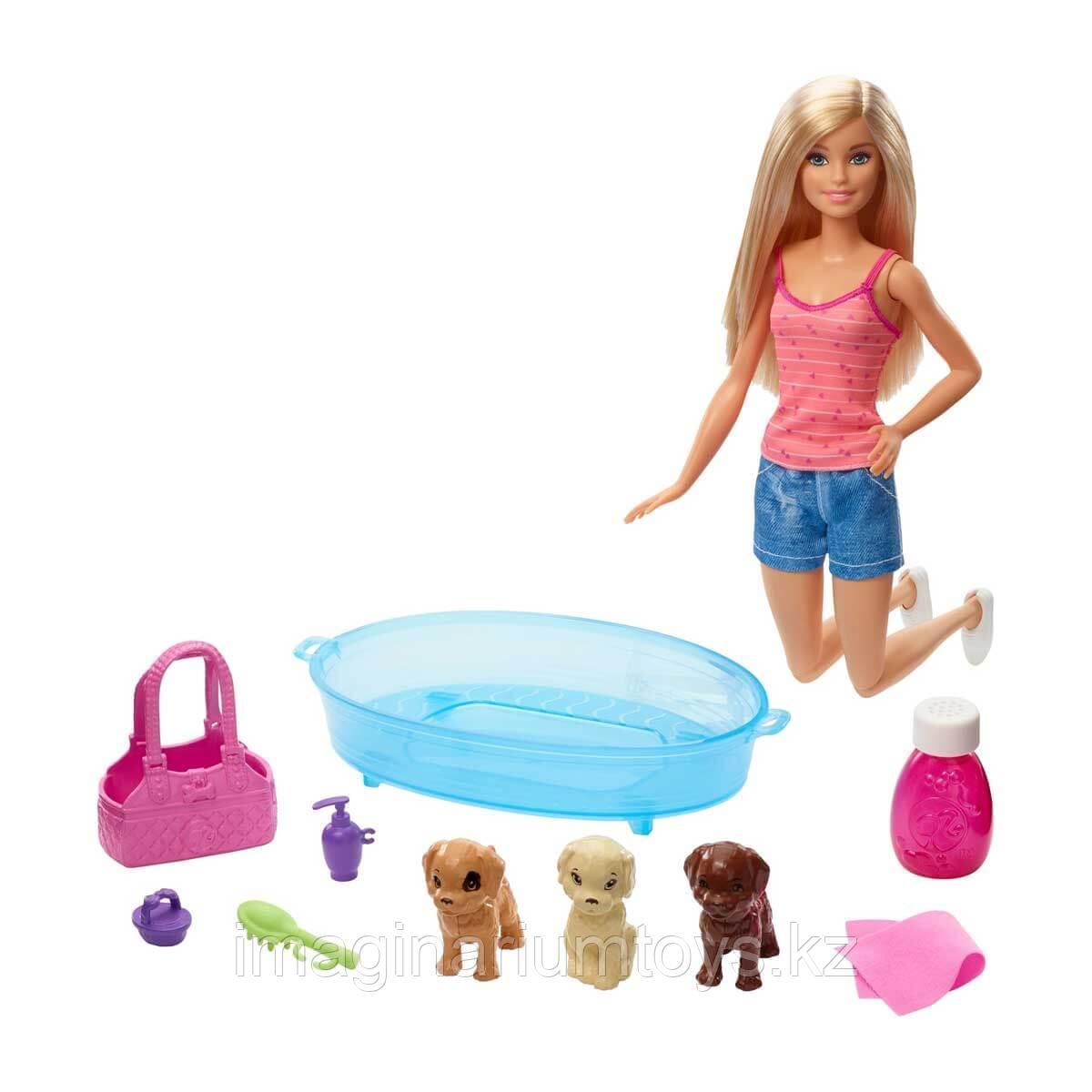"""Барби игровой набор  """"Купание щенков"""""""
