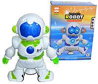 Немного помятая!!! 696-37 Танцующий робот Robot bot pioneer свет/звук 15*14