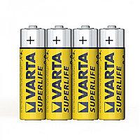 Батарейка VARTA Superlife Mignon 1.5V - R6P/AA (4 шт) в пленке(2006)