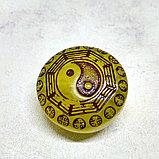 Амулет из янтаря Инь-ян и Тыква горлянка (здоровье), фото 2
