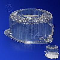 Kazakhstan Крышка к упаковке для торта d21,9х10,6см внутр 3800мл PS прозрачная 192 шт/кор ПР-Т-55 КВ
