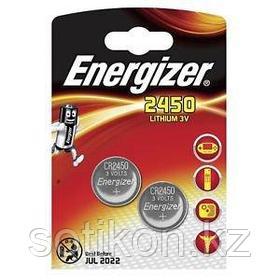 Элемент питания Energizer CR2450 -2 штуки в блистере.
