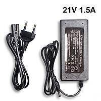 Зарядное устройство для литиевых батарей, 21v  1,5 А