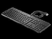 Клавиатура HP Europe Slim Business USB (Черный)