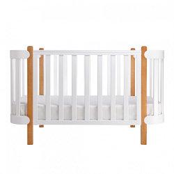 Кроватки овальные и круглые