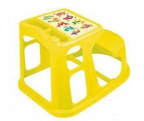 Стол парты, стульчики (пластик)