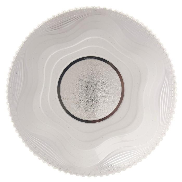 """Светильник с ПДУ  """"Селена"""" диммируемый LED 96Вт 3000-6000К 48х48х6 см."""