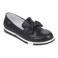 Полуботинки школьные для девочки арт. 211696 цвет черный, размер 35